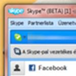 Már letölthető a Skype 5.5 bétája, Facebook integrációval