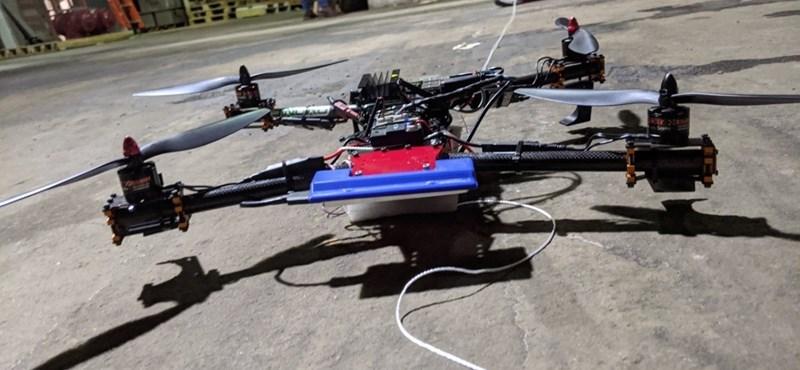 Drónok miatt kellett járatokat törölni a frankfurti repülőtéren