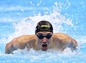 100m butterfly finalist Christoph Milak, Katinka Hoszo farewell Olympics - Broadcast of the Olympics on Thursday