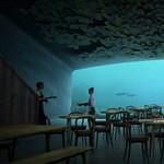 Lenyűgöző tervek: nemsokára már a tenger alatt is vacsorázhatunk