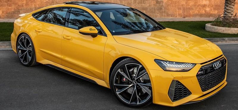 Van, amikor egy garázs legszerényebb autója a 600 lóerős egyedi Audi RS7