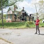 Amerikában drónokkal segítenék a vírus ellen küzdő orvosokat és ápolókat