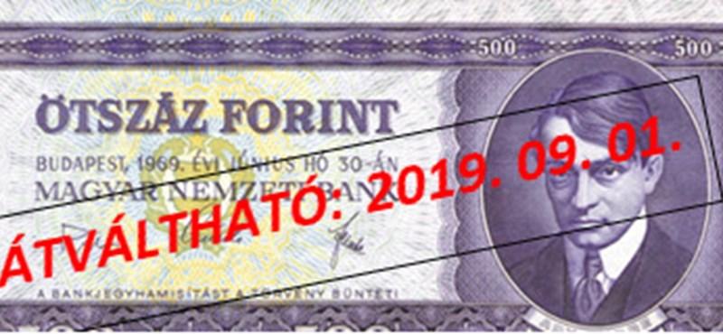 Emlékszik még ezekre a bankjegyekre? Még pár hétig lehet beváltani őket