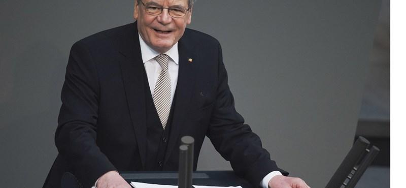 Átvette hivatalát az új német államfő