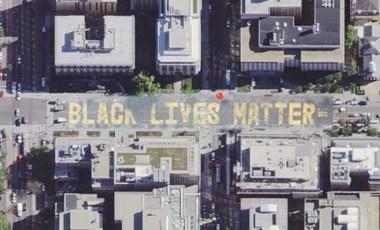 Apró, de fontos: az iPhone-os térképen már látszik a Black Lives Matter Plaza