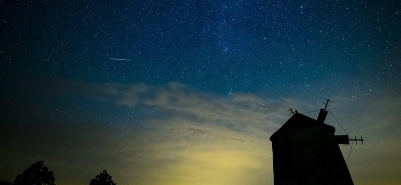Lemaradt a csillaghullásról tegnap? Itt egy festői képsorozat