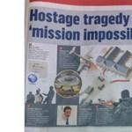 Baki: a Call Of Duty képeivel illusztrált egy cikket a Sunday Times