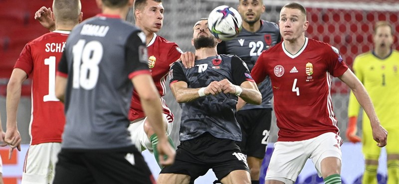 Hungary also lost at home to Albania