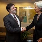 A fél világot bejárja Fellegi az IMF-hitelért