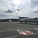 Különleges repülőgép landolt Ferihegyen – fotók