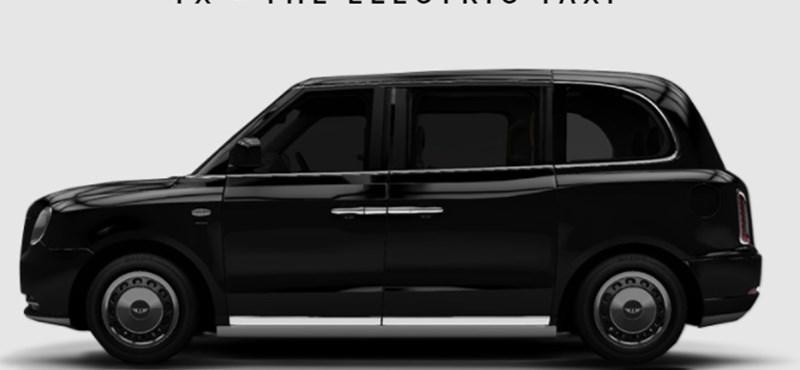 Forradalom Londonban: 24 000 taxit cserélnek le elektromosra