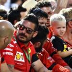 Kimi Räikkönen fia tényleg ellopta a show-t