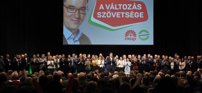 Bulihangulattal zárult az MSZP kampánynyitója, az eddigi legnagyobb harcon túl vannak