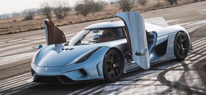 A hibrid autó, amelynek minden példányát letesztelik 300 km/h-ra – videó
