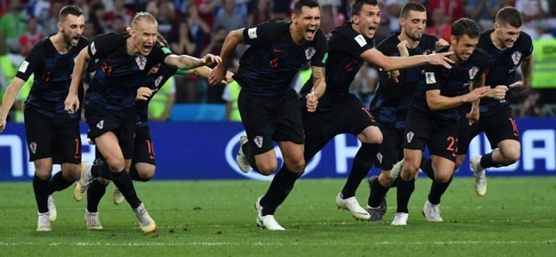 Tizenegyespárbaj után Horvátország az elődöntőben