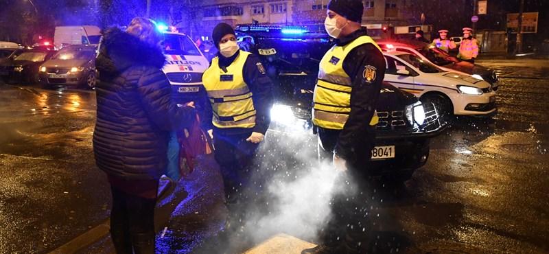 Romániában már csak kivételes esetben lehet az utcára lépni
