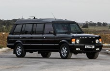 A brunei szultán mindenben az egyedit szerette: mint ez a 6 méteres Range Rover limuzin