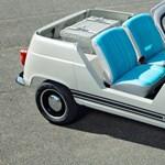 Csodás hangulata van a Renault elektromos retró autójának