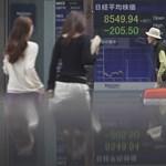 Az erős jen is gyengítheti az ázsiai tőzsdeindexeket