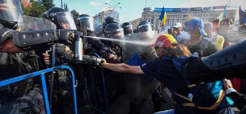 Bűnvádi eljárás indult a román csendőrség vezetői ellen a bukaresti erőszakos tüntetés miatt