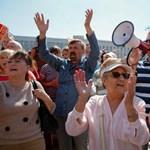 Ismét az ellenzéké Minszk