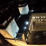 Pöpec légivideó a felújított diósgyőri várról