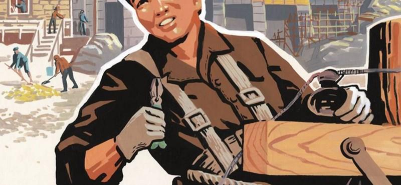 Észak-koreai propaganda-plakátokból nyílik kiállítás