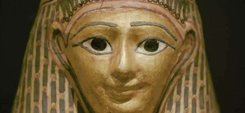 Kétezer éves múmiákat találtak az egyiptomi Dahsúrban