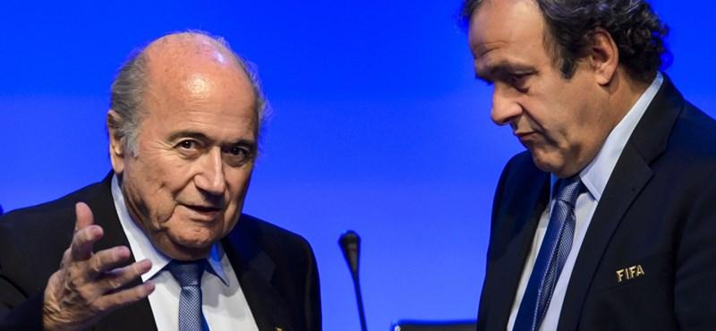 Platini is besározódhat a FIFA-pénz miatt