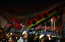 Leszakadt egy metrófelüljáró Mexikóvárosban, 20 ember meghalt