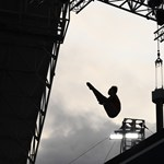 Gigantikus acél ugrótorony épül a Batthyány térnél a vizes vébére