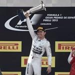 Rosberg hibátlan vezetéssel nyerte a Spanyol Nagydíjat