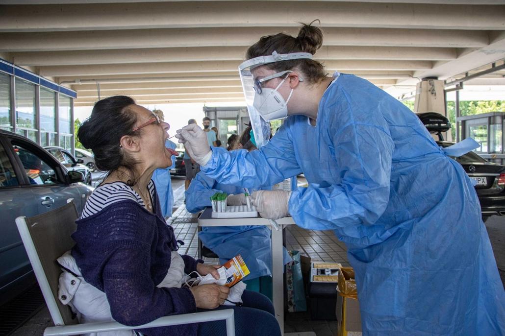 afp.20.07.05. tesztelés, koronavírus