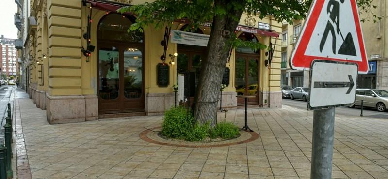 Folytatódik Budapest egyik kedvenc teraszának kivéreztetése