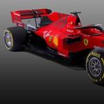 Itt a 2019-es F1-es Ferrari, ami matt vörös lett - fotók és videó