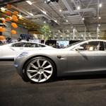 Indexet kap a Tesla