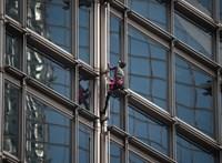 A francia Pókember egy hongkongi felhőkarcolón bukkant fel – videó