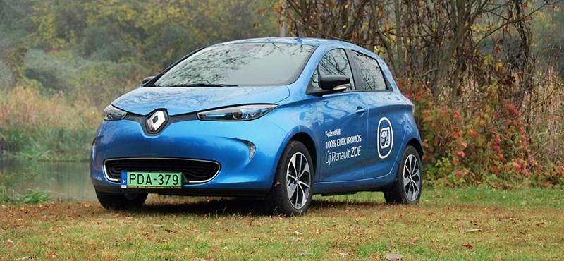Renault Zoe-teszt: +160 km egy töltéssel – maradhat?