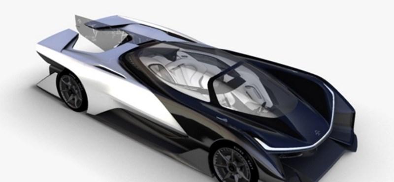 Kiszivárgott: 1000 lóerős lehet az elektromos Faraday Future