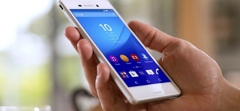 Nagy pofont kaptak a Sony okostelefonjai