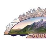 Miért van pont ma az Olümposz a Google kereső főoldalán?