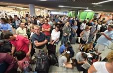 Összeütközött két gép a frankfurti repülőtéren
