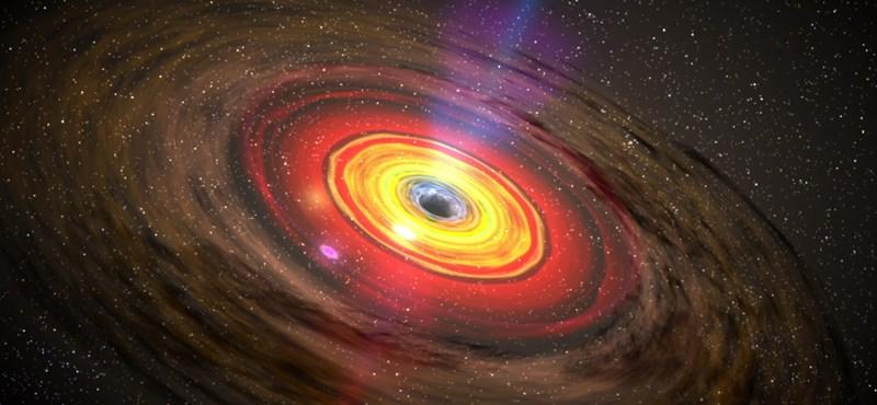 Olyasmit észlteltek a tudósok egy fekete lyuknál, ami elvileg lehetetlen