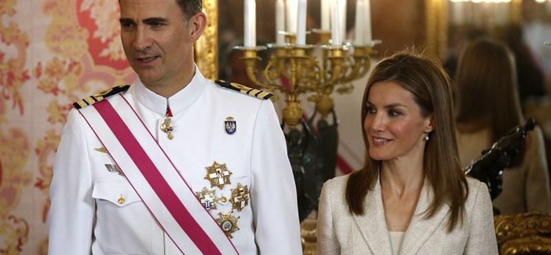 Király a buli: ma beiktatják az új spanyol uralkodót