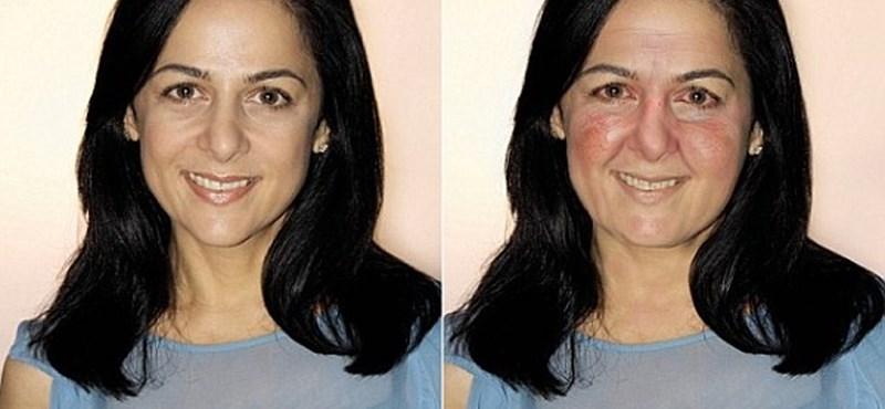Fotó: ilyen lesz az arcunk tíz év múlva napi két pohár bortól