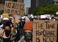 Detroitban a rendőri erőszak ellen tüntetők közé lőttek