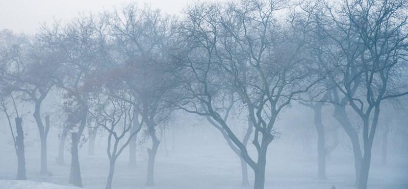 Az ónos esőnek vége, kaptunk helyette ködöt