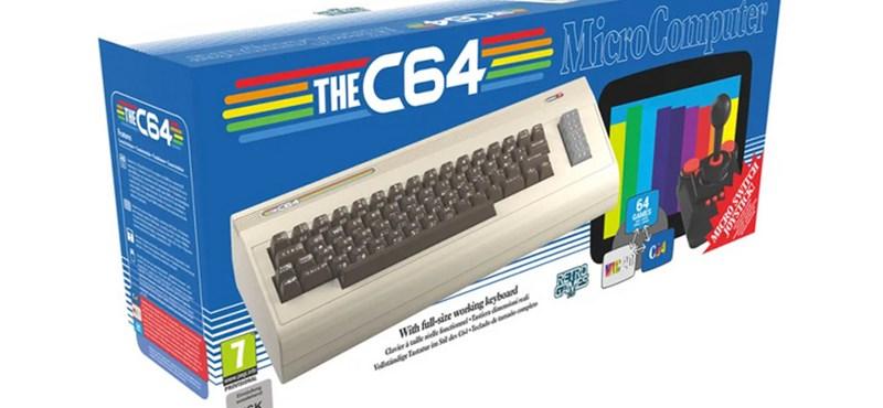 Már tudjuk, mit kér karácsonyra: decemberben újra kiadják a Commodore 64-et