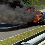 Lángba borult a Nürburgringen egy prototípus Lamborghini