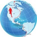 Pat Farmer ultramaratonista átszelte a bolygót: 21 ezer kilométert futott